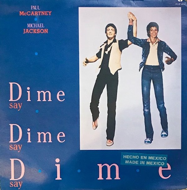 DIME DIME MAXI 45T MEXIQUE  / MICHAEL JACKSON-CD-DISQUES-RECORDS-VINYLES-STORE-BOUTIQUE