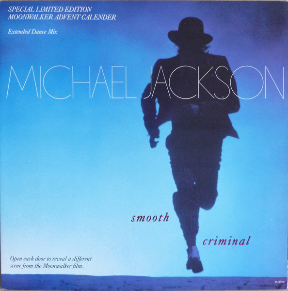 SMOOTH CRIMINAL 12 INCHES MAXI UK LIMITED  / MICHAEL JACKSON  - CD - RECORDS -  BOUTIQUE VINYLES