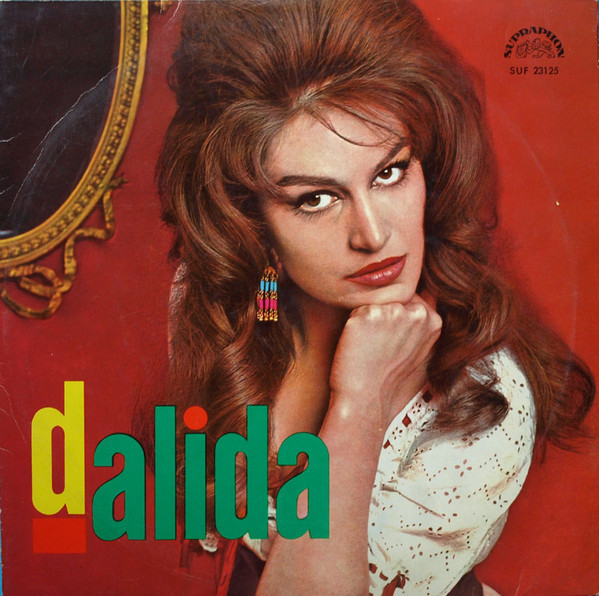 DALIDA 10 INCHES  CZECHOSLOVA/ DALIDA -CD-RECORDS-BOUTIQUE- VINYLS-COLLECTORS-DISQUES