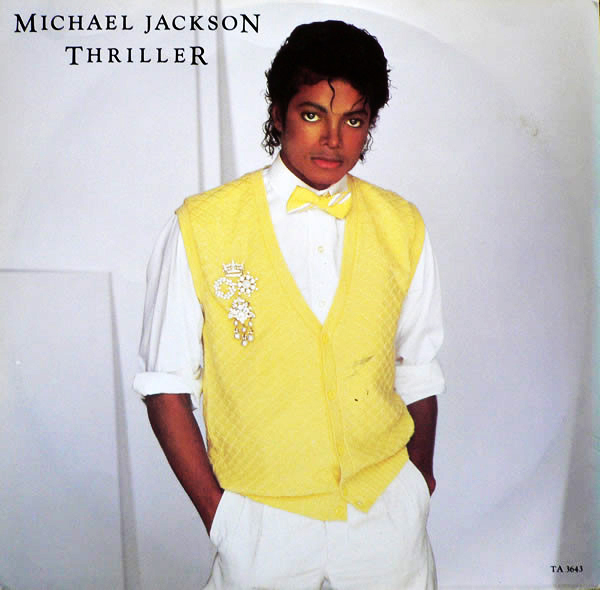 THRILLER 12 INCHES UK / MICHAEL JACKSON-CD-RECORDS-BOUTIQUE-VINYLS-COLLECTORS