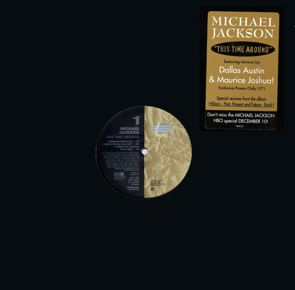 THIS TIME AROUND 12 INCHES  SAMPLER USA  MICHAEL JACKSON-CD-RECORDS-BOUTIQUE-VINYLS-COLLECTORS