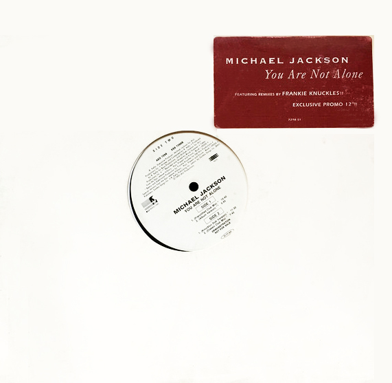 YOU ARE NOT ALONE  MAXI 45T SAMPLER  USA  / MICHAEL JACKSON-CD-DISQUES-RECORDS-VINYLES-BOUTIQUE-