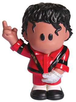 THRILLER  FIGURINE / MICHAEL JACKSON-CD-DISQUES-RECORDS-VINYLES-BOUTIQUE-