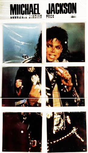 PACK SOUVENIR BAD TOUR PICTURE DISC / MICHAEL JACKSON-CD-RECORDS-VINYLS SHOP-COLLECTORS