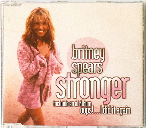STRONGER CD SAMPLER  MEXIQUE  / BRITNEY SPEARS-CD-DISQUES-RECORDS-BOUTIQUE VINYLES