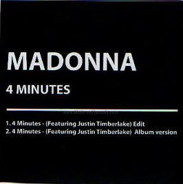 4 MINUTES CD SAMPLER AUSTRALIA /  MADONNA-CD-DISQUES-RECORDS-VINYLS-COLLECTORS-BOUTIQUE-VINYLS