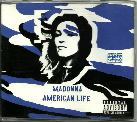 AMERICAN LIFE CD  MAXI ARGENTINE / MADONNA-CD-DISQUES-RECORDS-BOUTIQUE VINYLES-SHOP-STORE-COLLECTORS