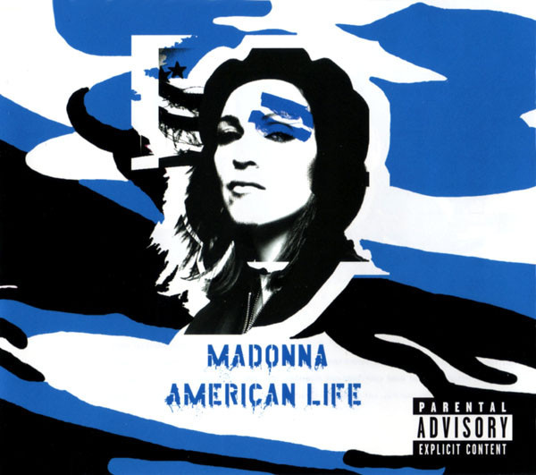 AMERICAN LIFE CD  MAXI UK 2 / MADONNA-CD-DISQUES-RECORDS-BOUTIQUE VINYLES-SHOP-STORE-COLLECTORS