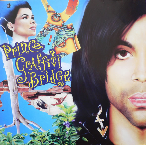 GRAFFITI BRIDGE  33T BRESIL  SAMPLER / PRINCE-CD-DISQUES-RECORDS-BOUTIQUE VINYLES-RECORDS
