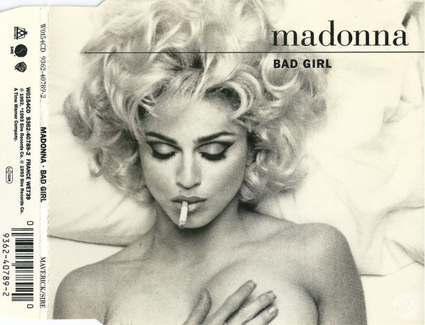 BAD  GIRL CD MAXI  UK /MADONNA-CD-DISQUES-BOUTIQUE VINYLES-SHOP-COLLECTORS-STORE