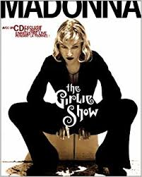 GIRLIE SHOW LIVRE CD  FRANCE  /MADONNA-CD-DISQUES-BOUTIQUE VINYLES-SHOP-COLLECTORS-STORE