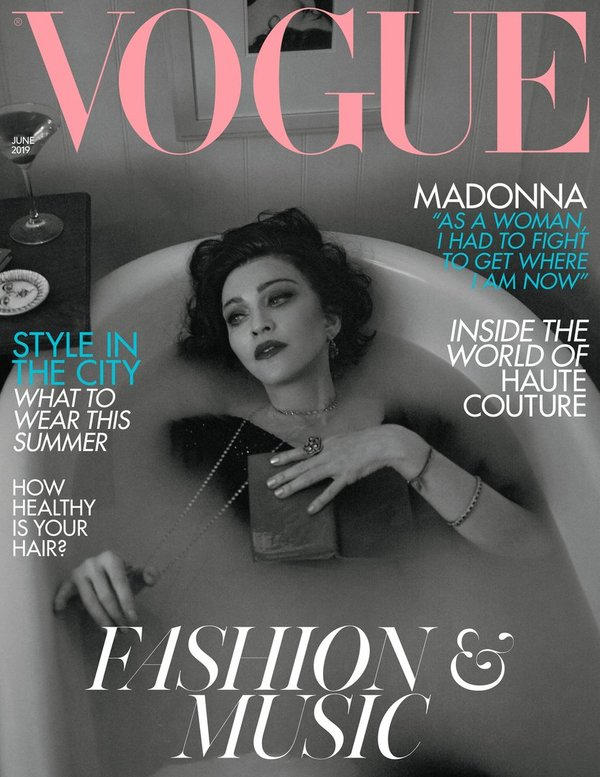 VOGUE MAGAZINE UK 2019  /MADONNA-CD-DISQUES-BOUTIQUE VINYLES-SHOP-COLLECTORS-STORE