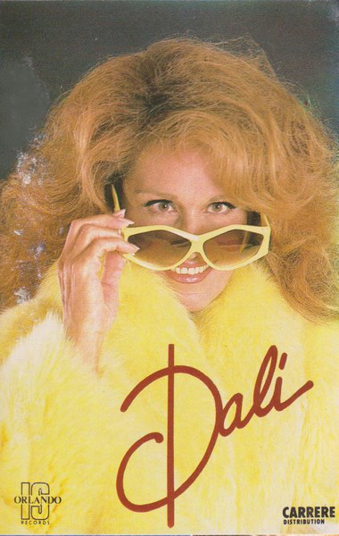 DALI CASSETTE FRANCE SEALED / DALIDA-CD-RECORDS-BOUTIQUE- VINYLS-COLLECTORS-DISQUES