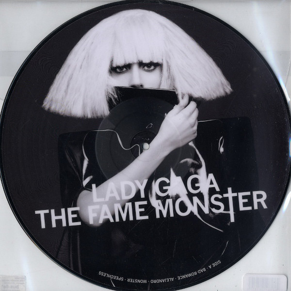 THE FAME MONSTER PICTURE DISC USA   / LADY GAGA-CD-RECORDS-BOUTIQUE VINYLES