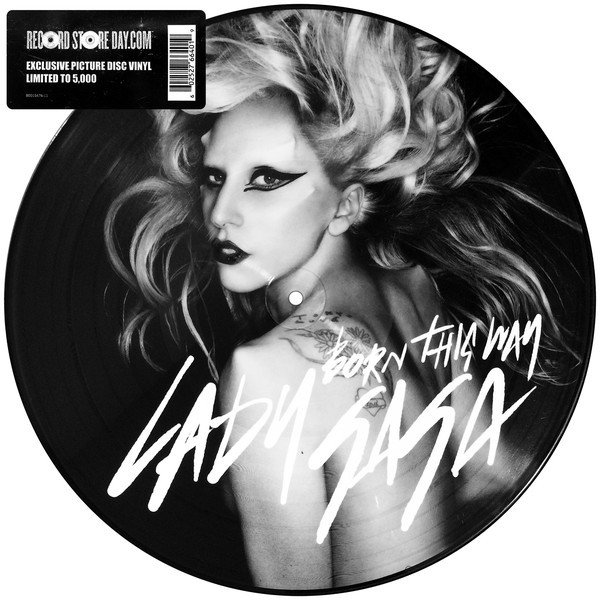 BORN THIS WAY PICTURE DISC RSD 2011 USA / LADY GAGA-CD-RECORDS-VINYLS-COLLECTORS-STORE-SHOP