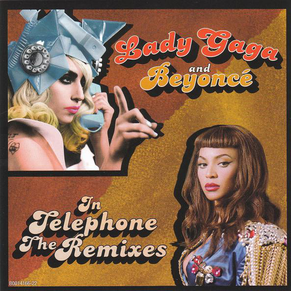 TELEPHONE CD MAXI USA / LADY GAGA-CD-DISQUES-RECORDS-VINYLS-MUSICSHOP-COLLECTORS-STORE-LPS