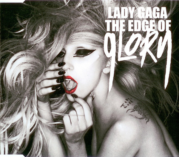 THE EDGE OF GLORY  CD GERMANY / LADY GAGA-CD-DISQUES-RECORDS-STORE-LPS-VINYLS-SHOP-COLLECTORS-AWARDS