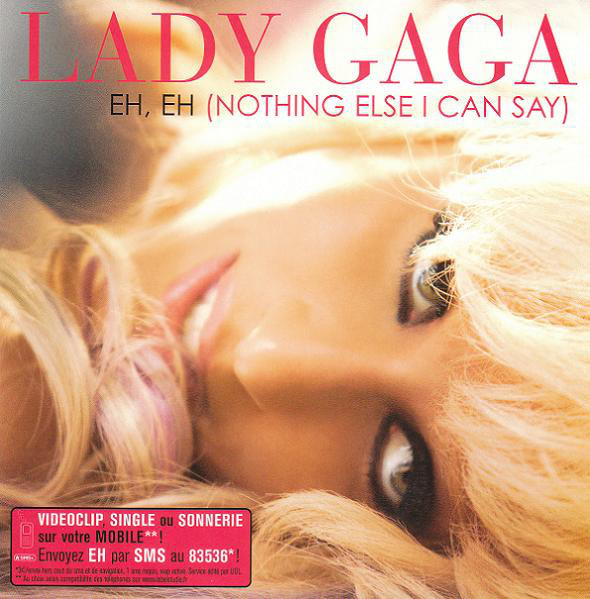 EH EH CD SINGLE FRANCE / LADY GAGA-CD-DISQUES-RECORDS-STORE-LPS-VINYLS-SHOP-COLLECTORS-AWARDS