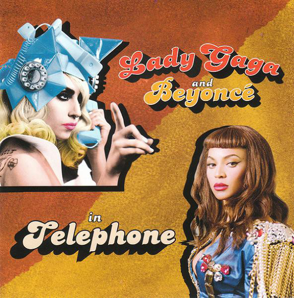 TELEPHONE CD SINGLE FRANCE / LADY GAGA-CD-DISQUES-RECORDS-VINYLS-MUSICSHOP-COLLECTORS-STORE-LPS