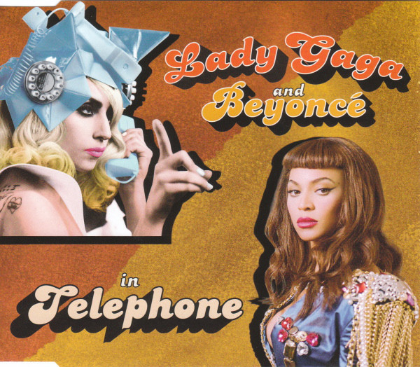 TELEPHONE CD SINGLE EUROPE / LADY GAGA-CD-DISQUES-RECORDS-VINYLS-MUSICSHOP-COLLECTORS-STORE-LPS