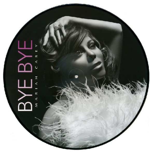 BYE BYE PICTURE DISC  MARIAH CAREY-RECORDS-STORE-LPS-VINYLS-SHOP-COLLECTORS-AWARDS
