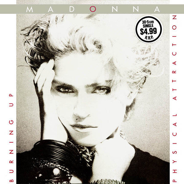 BURNING UP MAXI 45T AUSTRALIE /MADONNA-CD-DISQUES-BOUTIQUE VINYLES-SHOP-COLLECTORS-STORE