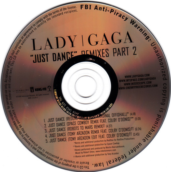 JUST DANCE CD SAMPLER USA / LADY GAGA-CD-DISQUES-RECORDS-STORE-LPS-VINYLS-SHOP-COLLECTORS-AWARDS