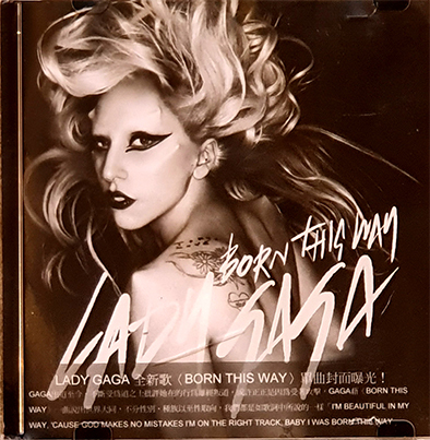 BORN THIS WAY CD SAMPLER HONG KONG LADY GAGA-CD--RECORDS-STORE-LPS-VINYLS-SHOP-COLLECTORS-AWARDS