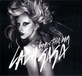 BORN THIS WAY CD SAMPLER USA / LADY GAGA-CD--RECORDS-STORE-LPS-VINYLS-SHOP-COLLECTORS-AWARDS