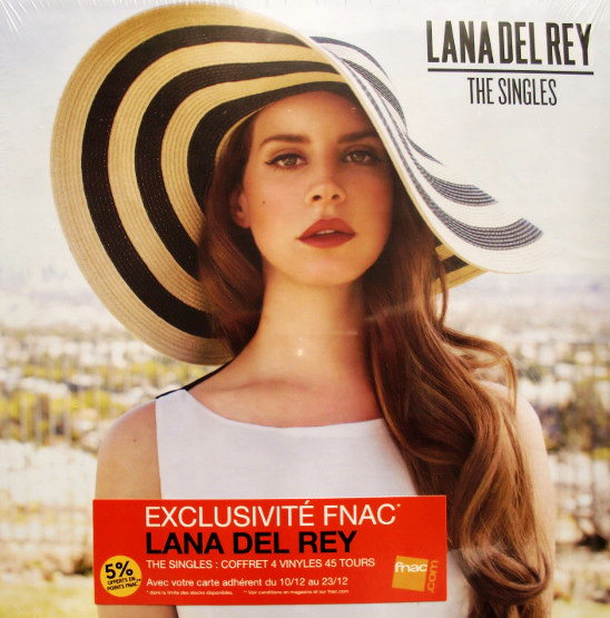 THE SINGLES BOX 7 ' FRANCE  / LANA DEL REY-CD-DISQUES-RECORDS-STORE-LPS-VINYLS-SHOP-COLLECTORS-AWARD