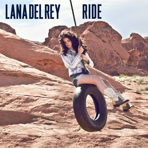RIDE CD SAMPLER FRANCE LANA DEL REY-CD-DISQUES-RECORDS-STORE-LPS-VINYLS-SHOP-COLLECTORS