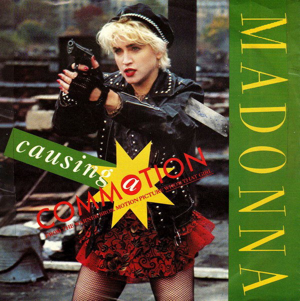 CAUSING  / 45T USA sampler  MADONNA-CD-DISQUES-RECORDS-BOUTIQUE VINYLES-SHOP-COLLECTORS-ST