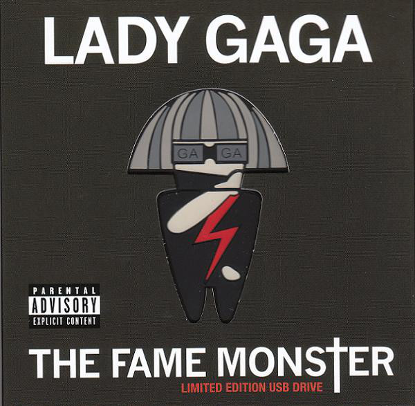THE FAME MONSTER USB  EUROPE / LADY GAGA-CD-RECORDS-BOUTIQUE-VINYLS-STORE-LPS-COLLECTORS