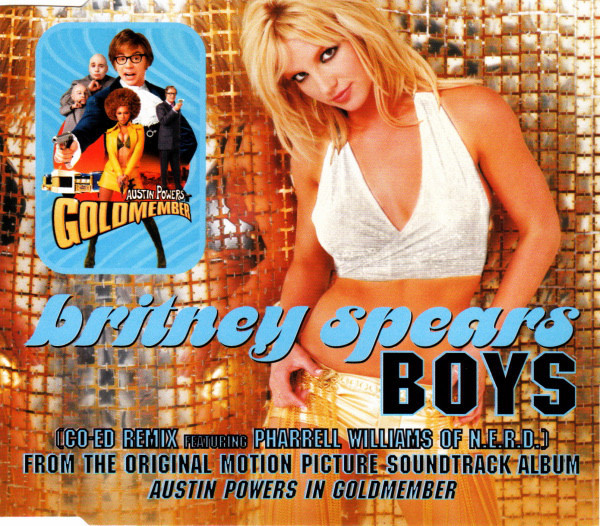 BOYS CD MAXI EUROPE  / BRITNEY SPEARS-CD-DISQUES-BOUTIQUE VINYLES-SHOP-COLLECTORS-STORE