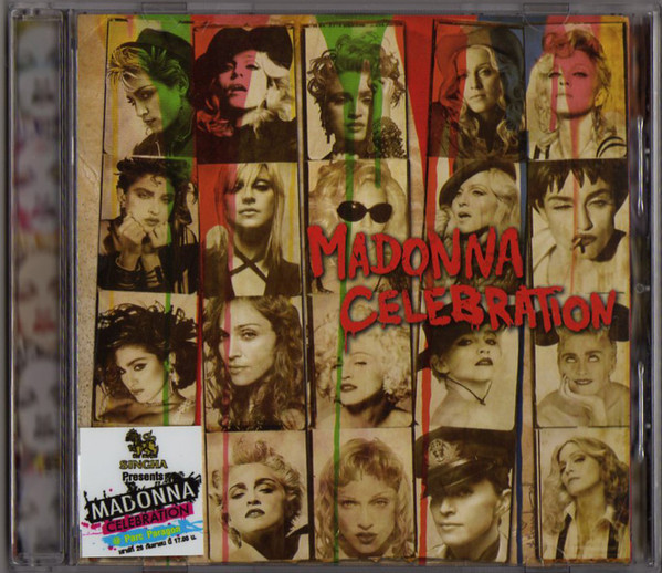 CELEBRATION CD SAMPLER  THAILANDE /   MADONNA-CD-DISQUES-RECORDS-BOUTIQUE VINYLES-SHOP-COLLECTORS-ST