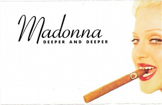 DEEPER AND DEEPER CASSETTE UK /  MADONNA-CD-DISQUES-RECORDS-BOUTIQUE VINYLES-SHOP-COLLECTORS-STORE