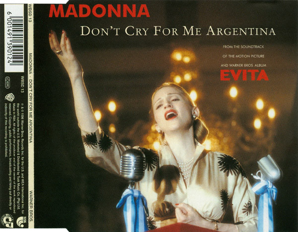 DON'T CRY  CD MAXI  AFRIQUE   MADONNA-CD-DISQUES-RECORDS-BOUTIQUE VINYLES-SHOP-COLLECTORS-STORE