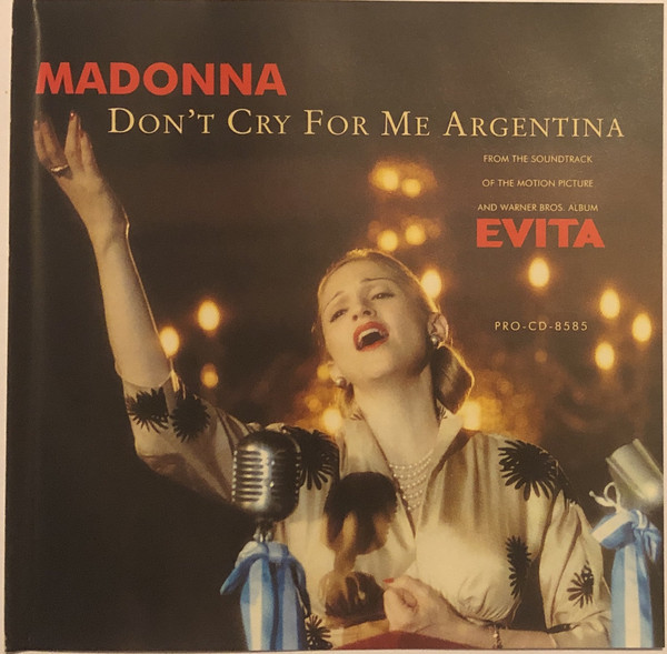 DON'T CRY  CD SAMPLER USA /  MADONNA-CD-DISQUES-RECORDS-BOUTIQUE VINYLES-SHOP-COLLECTORS-STORE