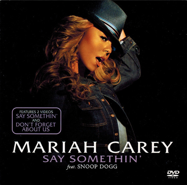 SAY SOMETHIN' DVD UK  MARIAH CAREY-RECORDS-STORE-LPS-VINYLS-SHOP-COLLECTORS-AWARDS
