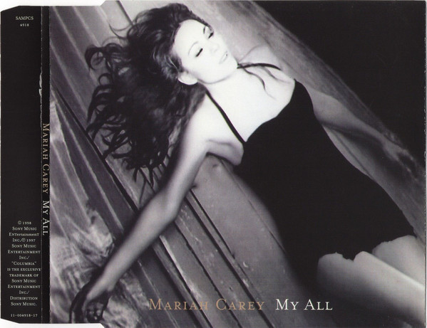 MY ALL CD SAMPLER EUROPE MARIAH CAREY-RECORDS-STORE-LPS-VINYLS-SHOP-COLLECTORS-AWARDS