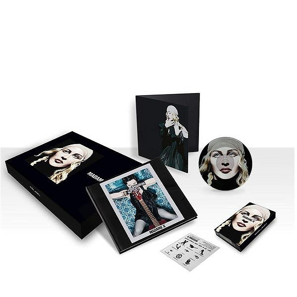 MADAME  X BOX  EUROPE/ MADONNA-CD-DISQUES-BOUTIQUE VINYLES-SHOP-COLLECTORS-STORE