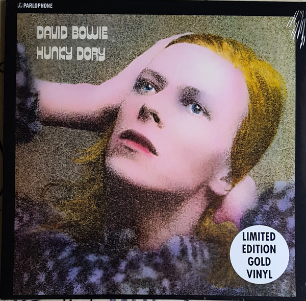 HUNKY DORY LP EUROPE GOLD / DAVID BOWIE  - CD - RECORDS -  BOUTIQUE VINYLES