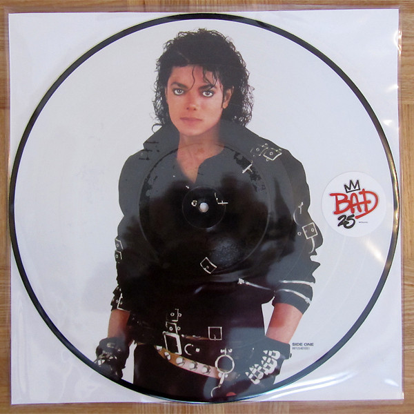 BAD 25 PICTURE DISC  EUROPE  / MICHAEL JACKSON-CD-DISQUES-RECORDS-VINYLES-STORE-BOUTIQUE