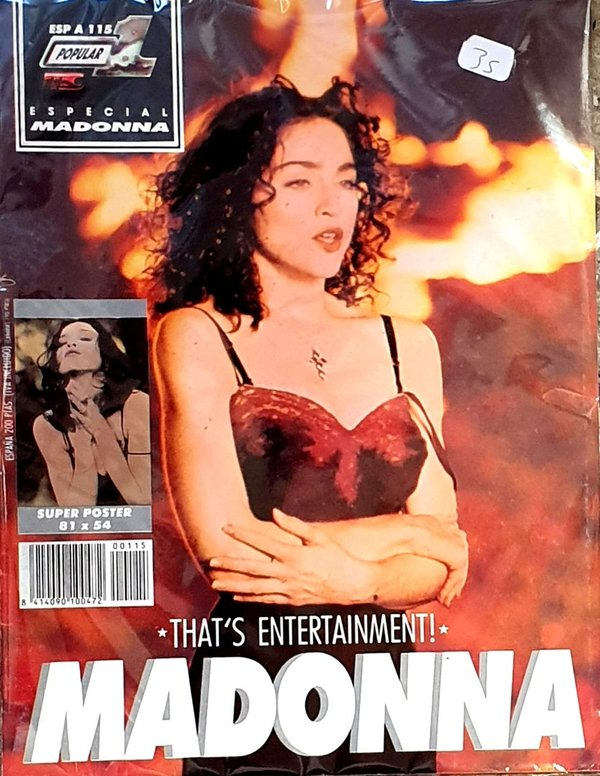 POPULAR 1 MAGAZINE  ESPAGNE / MADONNA-CD-DISQUES-BOUTIQUE VINYLES-SHOP-COLLECTORS-STORE