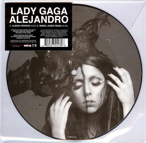 ALEJANDRO PICTURE EUROPE  / LADY GAGA-CD-DISQUES-RECORDS-BOUTIQUE VINYLES-MUSICSHOP-STORE-SHOP
