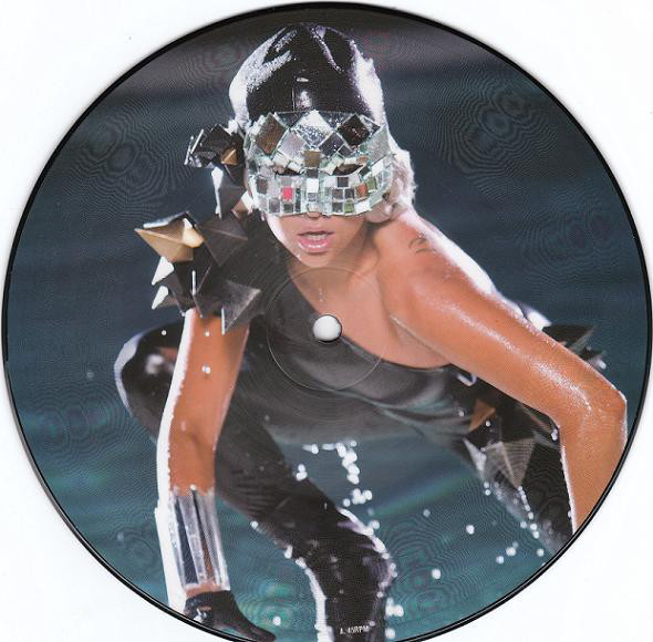 POKER FACE PICTURE DISC  EUROPE /  LADY GAGA-CD-DISQUES-BOUTIQUE VINYLES-RECORDS