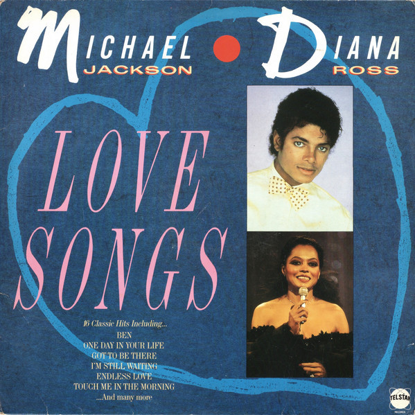 LOVE SONGS 33T  UK / MICHAEL JACKSON-CD-DISQUES-RECORDS-VINYLES-STORE-BOUTIQUE