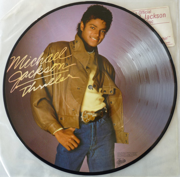 THRILLER 33 T PICTURE DISC USA  / MICHAEL JACKSON-CD-DISQUES-RECORDS-VINYLES-STORE-BOUTIQUE
