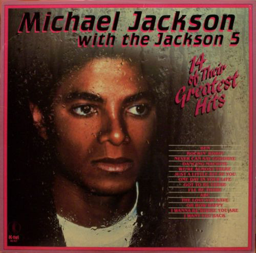 14 Of Their Greatest Hits  33T CANADA / MICHAEL JACKSON-CD-DISQUES-RECORDS-VINYLES-STORE-BOUTIQUE