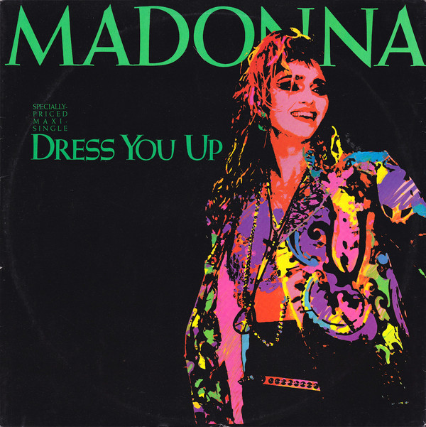 DRESS YOU UP  MAXI 45T EUROPE   MADONNA-CD-DISQUES-RECORDS-BOUTIQUE VINYLES-SHOP-COLLECTORS-STORE